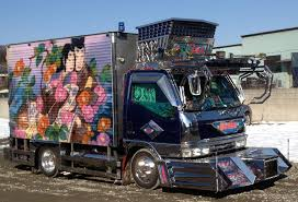 The Decorated Trucks Of Japan - DeepJapan