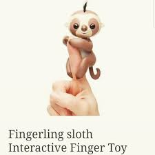 We Have Fingerlings Baby Sloths Rabbits Monkeys Unicorns Dont Forget There Toy Jumgle Gym Either Cafecoffeefanatics Sloth
