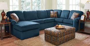 Sectional Sofa With Cuddler Chaise by Blue Leather Sectional Sofa With Chaise Www Energywarden Net