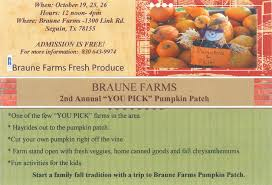 Free Pumpkin Patch In Katy Tx by Pick A Pumpkin From Our Friends At Braune Farmhouse Delivery
