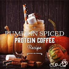 Pumpkin Spice Keurig Nutrition by Cup O Protein Coffee Infusion Cup O Beverages