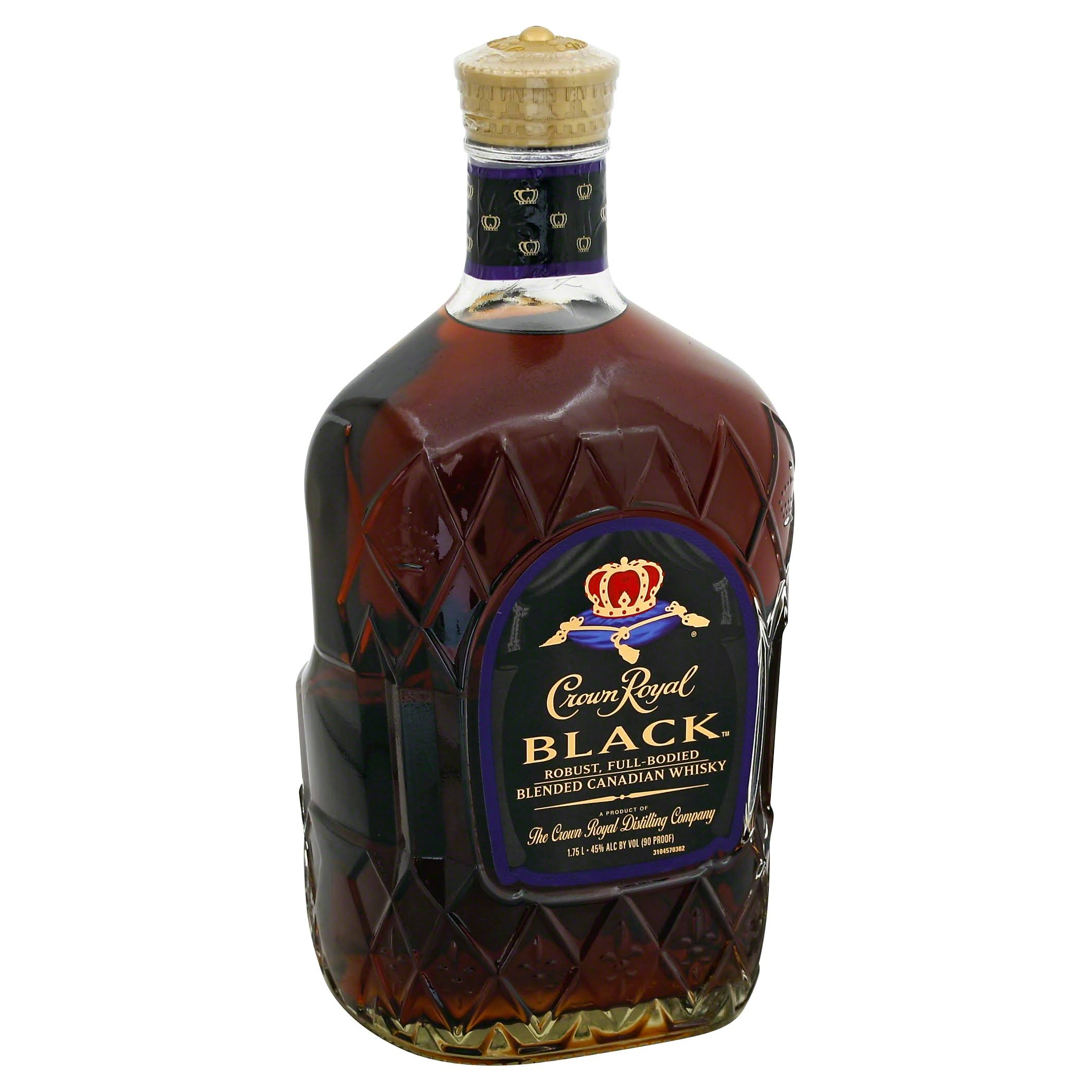 Crown Royal Canadian Whisky - Black, 1.75l