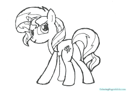 Coloring Pages Of My Little Pony Equestria Girls Sunset Shimmer Girl Printable