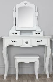 Bath Vanities With Dressing Table by Fancy White Wooden Mirror Vanity Dressing Table With Drawers And