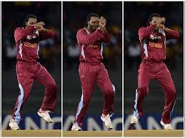 Download 240x320 Chris Gayle West Indies Cricketer Doing Dance Garanam Style Wallpapers