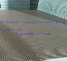 6mm or 10mm thermal insulation underfloor heating wedi tile backer