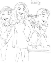 Icarly Coloring Pages To Print 1