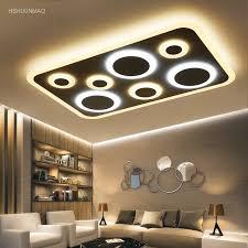 neue led acryl deckenleuchte rechteckig atmosphäre wohnzimmer stilvolle moderne schlafzimmer restaurant studie deckenleuchten 110 240 v