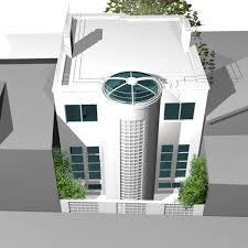 villa moderne à chatillon vue de la façade arrière journal du loft