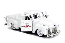 100 Custom Truck Las Vegas Amazoncom Jada 1953 Chevrolet 3100 Pickup White Shop