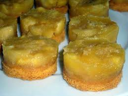 recette de palets bretons et ses pommes confites