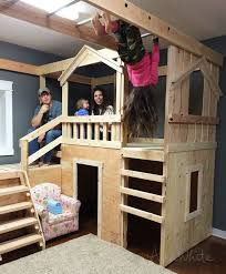 Free Instructions For Bunk Beds by Best 25 Playhouse Bed Ideas On Pinterest Kura Bed Kura Bed