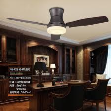 48 Inch Classical Dining Room Led Ceiling Fan Light Creative Retro Study Designer Restaurant Coffee