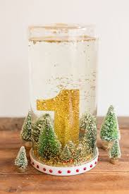 DIY Snow Globe Wedding Table Numbers For Your Winter