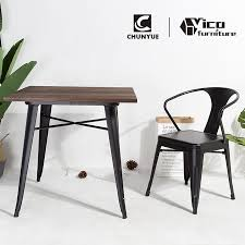 Best Sale Outdoor Indoor Wrought Iron Fast Food Restaurant Cafe Dining Set  Table And Chair For Coffee Shop - Buy Table And Chair,Table And Chair ...