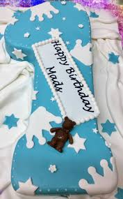 torte zahl 1 für junge mit aufschrift tortenstube