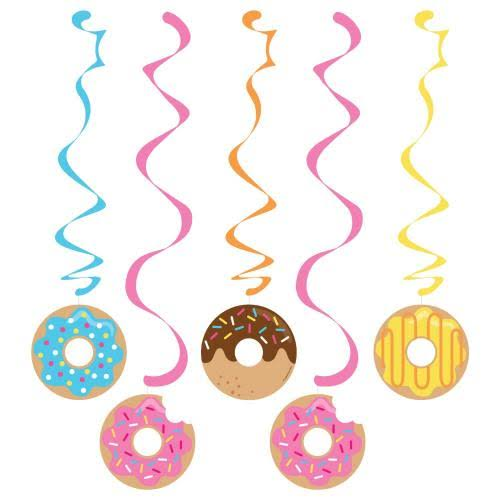 Donut Party Dizzy Danglers - 5 Pack