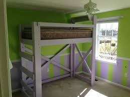 decoration Loft bed frame coccinelleshow