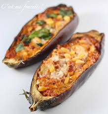 comment cuisiner l aubergine sans graisse c est ma fournée les aubergines farcies sans viande