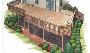 House Deck Plans Ideas by 15 Best Simple Second Floor Deck Plans Ideas House Plans 50110