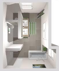 das badezimmer mit t wand 3d planung vogelperspektive