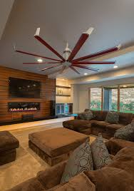ceiling fan contemporary living room salt lake city