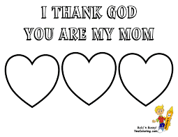 Marvelous Mothers Day Coloring Pages And Mom