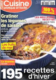 magazine de cuisine journaux fr cuisine pratique et facile