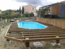 superbe pose terrasse bois composite sur dalle beton 5