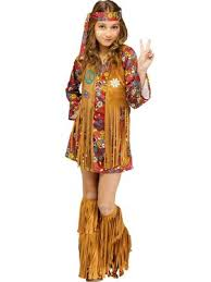 Girls Peace Love Hippie Costume