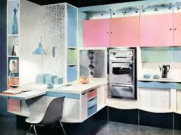 Innovative 60s Style Kitchen