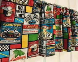 racing car curtains etsy