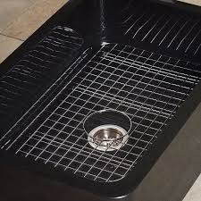 stainless steel sink grid stone forest