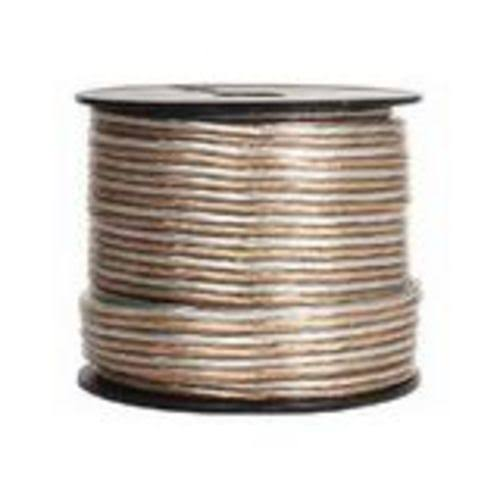 Steren - Speaker cable - Clear - 100 ft - Bare wire to Bare wire