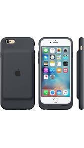 Smart Battery Case para el iPhone 6 6s Gris Carb³n