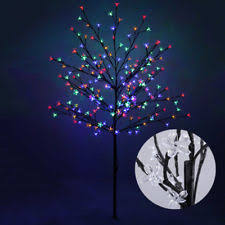 3ft Pre Lit Blossom Christmas Tree by Pre Lighted Christmas Trees Ebay