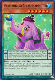 Yugioh Deck Types P by Performapal Splashmammoth Yu Gi Oh Fandom Powered By Wikia