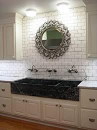 Tiles For Backsplash In Bathroom by White 3x12 Thick Clay Body Subway Tile Backsplash Kitchen Tile