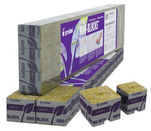 Grodan Starter Mini-blocks - 45ct, 1.5""