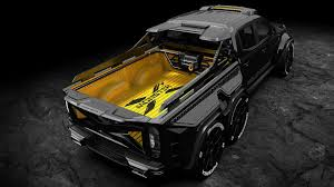 100 Truck Design 6Wheel Mercedes XClass Custom Is Pickup Of Your Nightmares