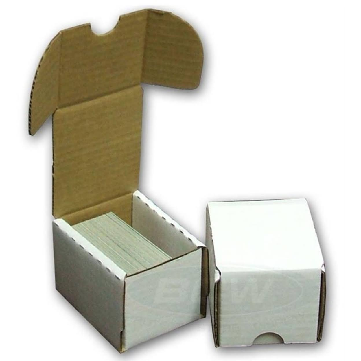 50 BCW Storage Boxes (100 Count) Corrugated Cardboard Storage Box