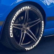 Continental Tire Lettering