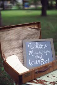 DIY Chalkboard Sign As Rustic Wedding Decor