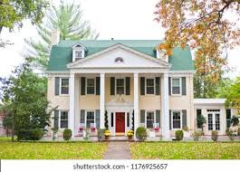 Neoclassical House Neoclassical House Images Stock Photos Vectors