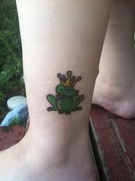 My Frog Prince Tattoo On Ankle
