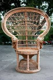 All Photos Courtesy Of Linda Grasso ShesezA Vintage Wicker Peacock Chair AboveGood Friend
