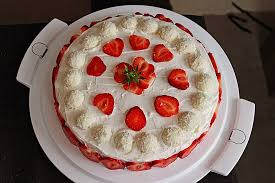 rezept erdbeer raffaello torte hebmamis