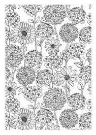 Fleurs Coloriage Pour Adultes Coloring Pages For Adults