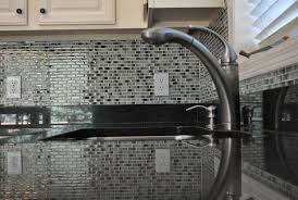 limestone mosaic tile backsplash home design ideas