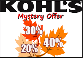 Kohl's Mystery Savings Coupon: 40% 30% Or 20% Valid On 02/18/19 Only ... Kohls 30 Off Coupons 1800kohlscoupon Twitter Coupon 15 Your Store Purchase Printable 2018 Justice Coupons Code Possible Up To 40 Code Stackable Codes 50 Mystery Mvc Free Shipping August 2019 For Black Friday Ads Deals And Sales Couponshy To Entire Today Only Check Hip2save 1520 Off At Or Online Via Promo Supsaver